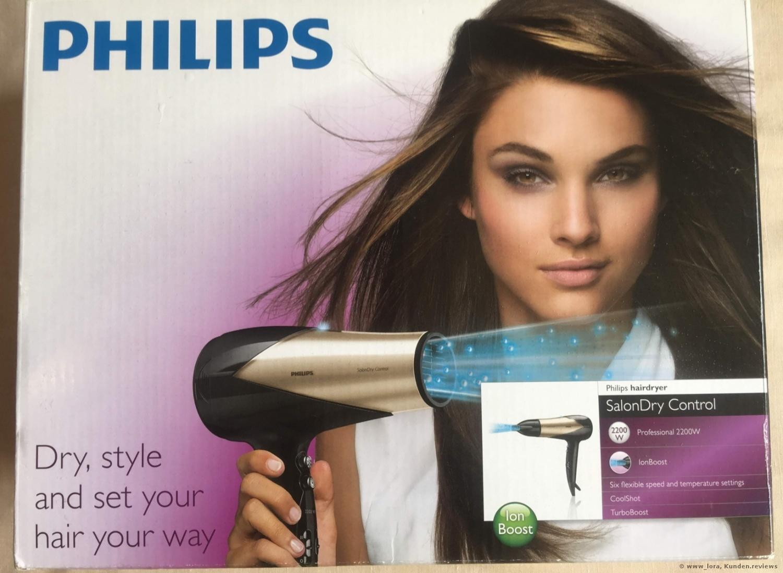 Philips SalonDry Control HP8182/00 Haartrockner Foto