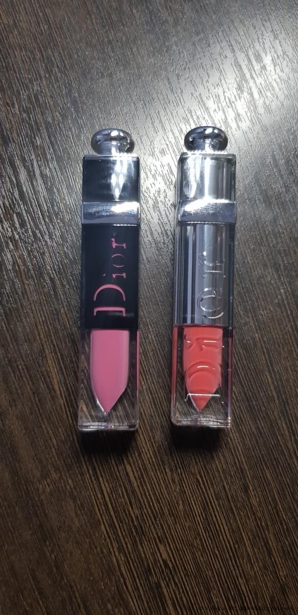 Dior ADDICT LACQUER PLUMP Lippenstift Foto