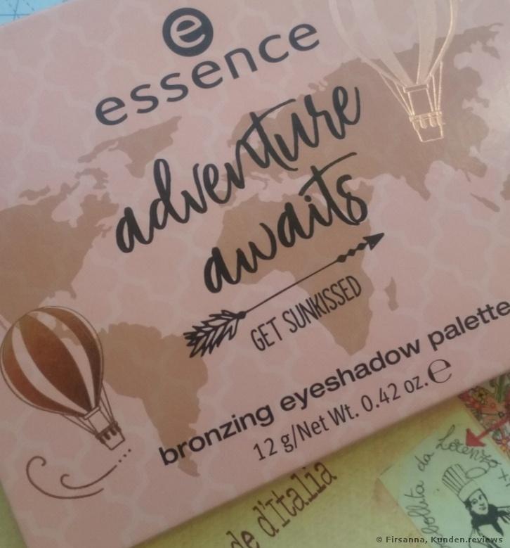 Essence Adventure Awaits Sunkissed Bronzing Lidschattenpalette