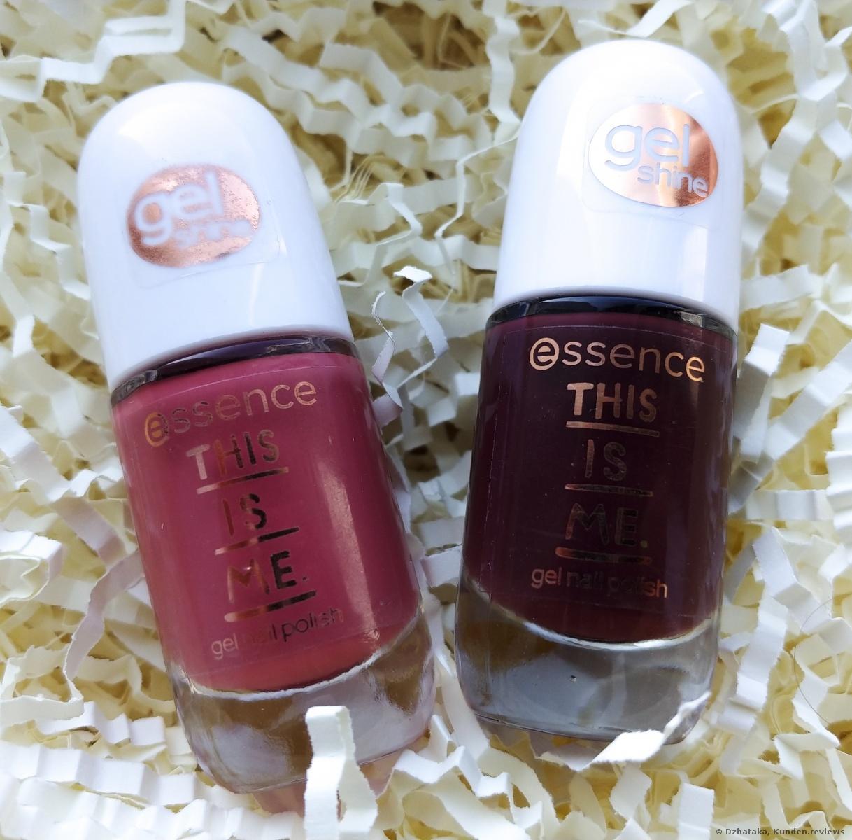 Essence This is Me gel nail polish