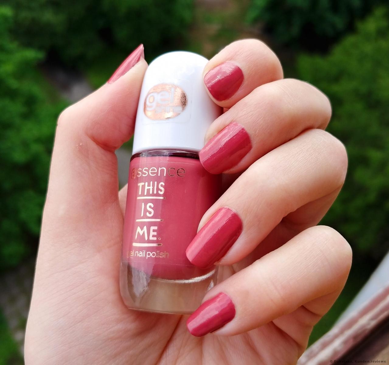 Essence This is Me gel nail polish 02 happy