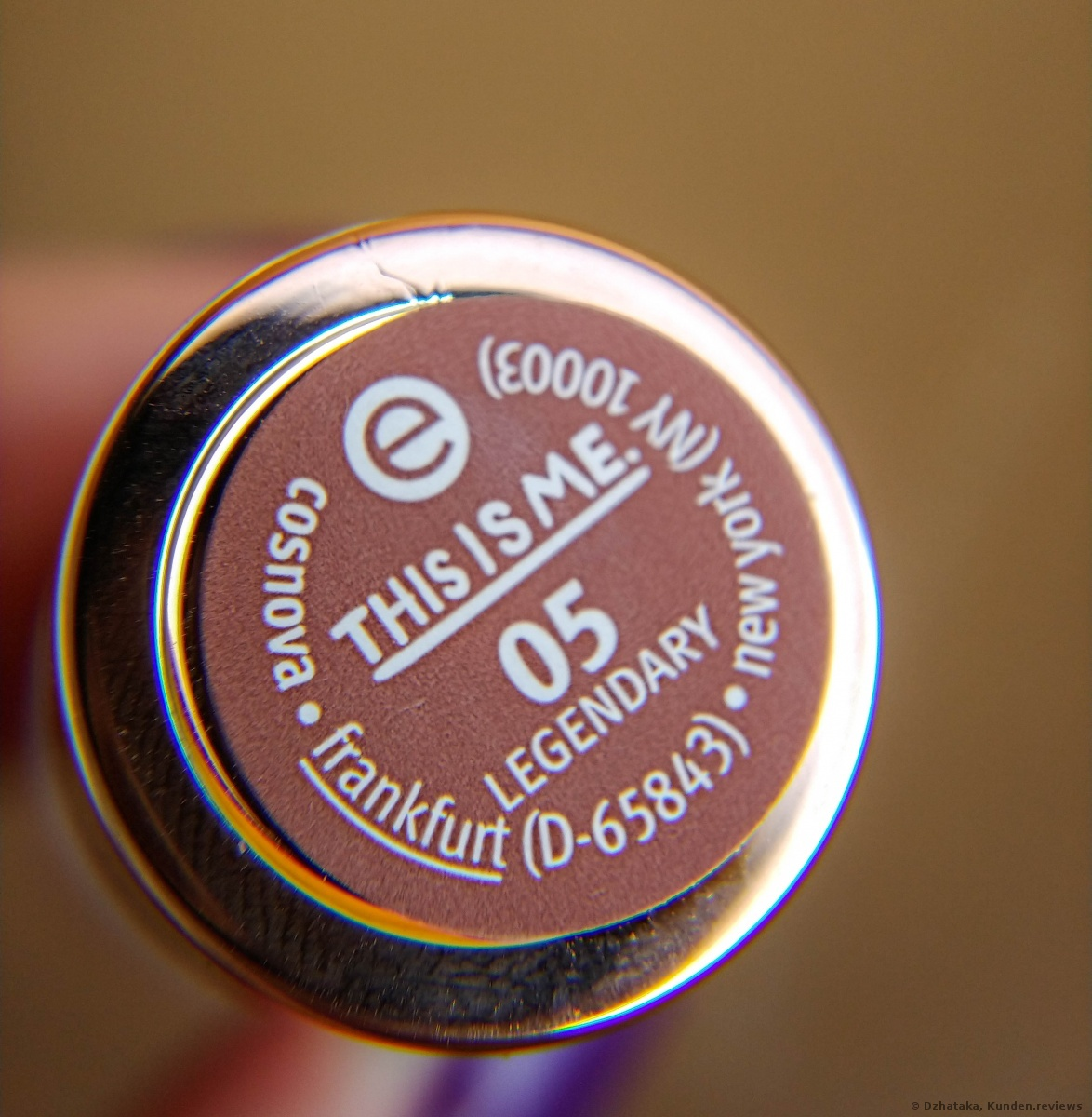 Essence This is me lipstick  05 Legendary