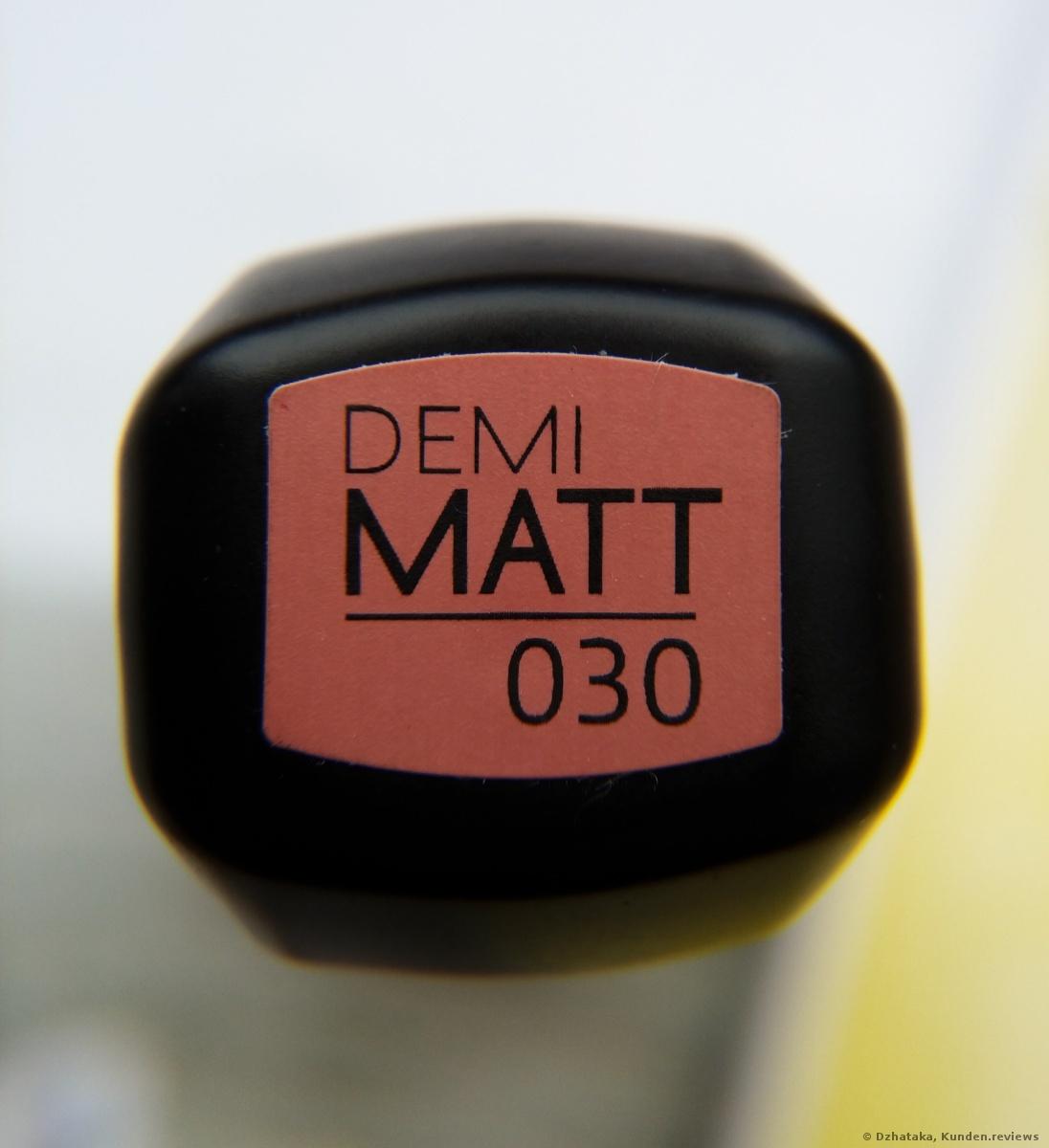 Catrice Demi Matt Lippenstift 030