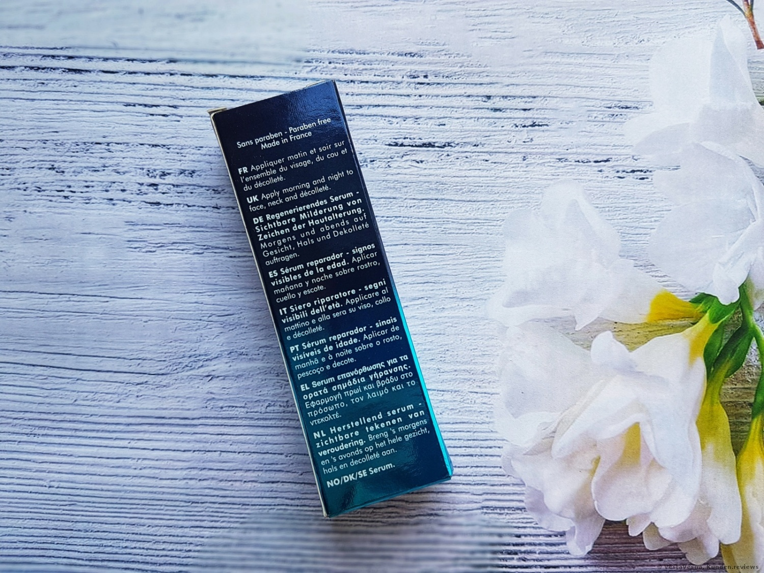 BLUE THERAPY ACCELERATED SERUM Biotherm