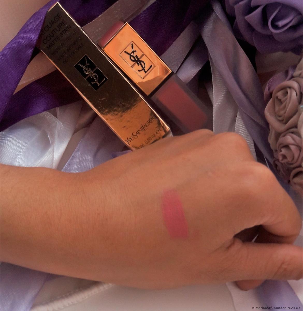 Yves Saint Laurent Tatouage Couture #11 ROSE ILLICITE
