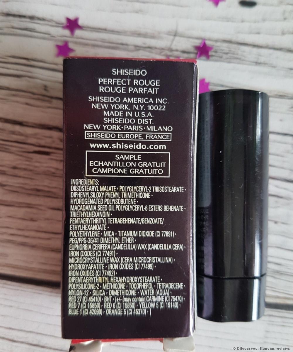 Shiseido Perfect Rouge Lippenstift