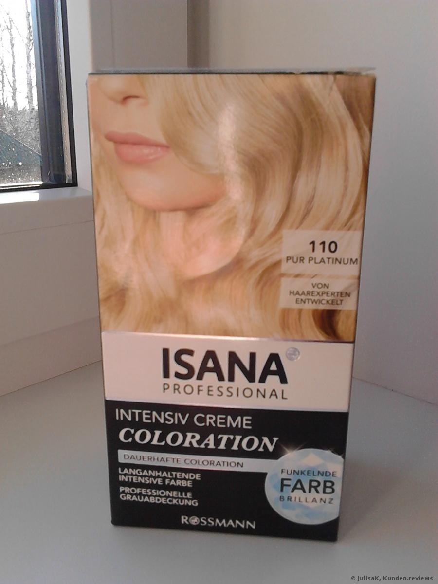 ISANA Professional Intensiv Creme Coloration 110 Pur Platinum