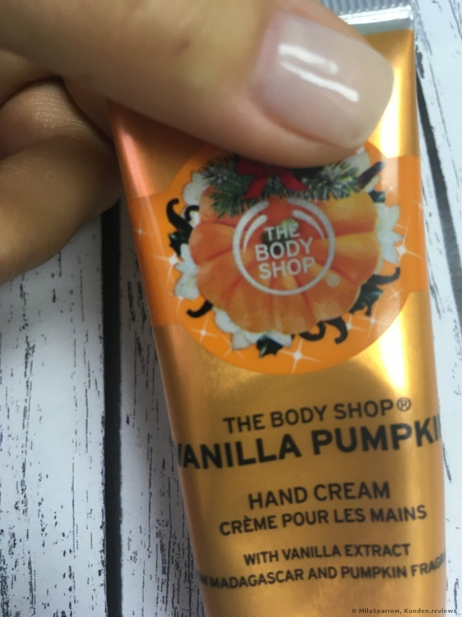 Vanilla Pumpkin Handcreme