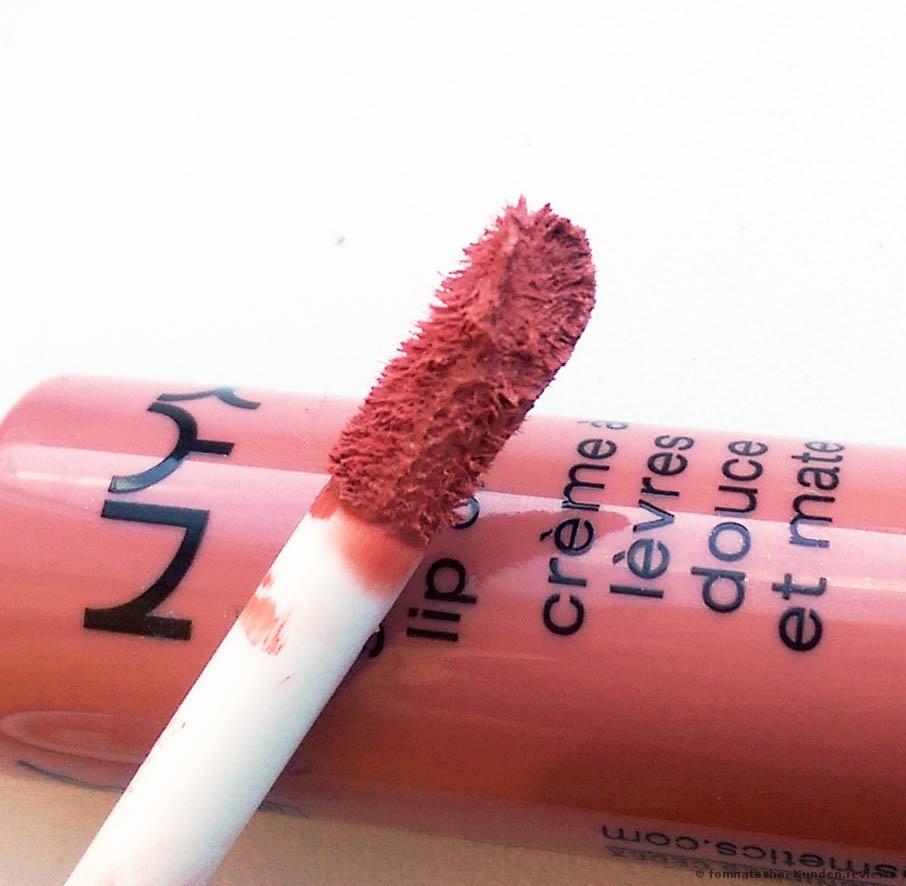 Applikator von NYX Soft matte Lip Cream
