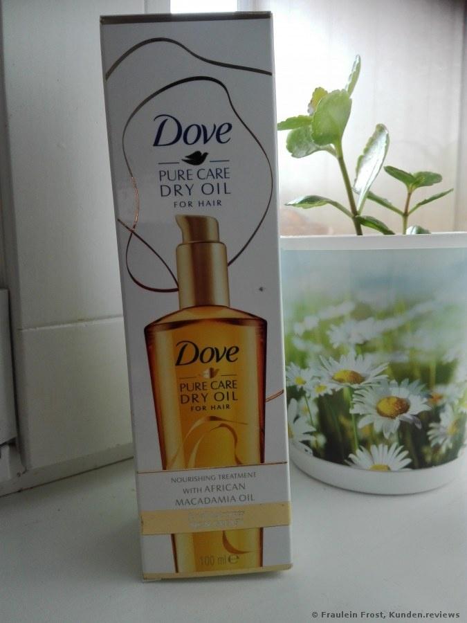 "Dove ""Pure Pflege Schwereloses Öl"""