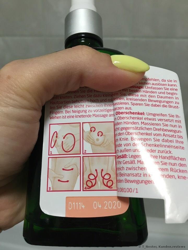Weleda Schwangerschafts Pflegeöl