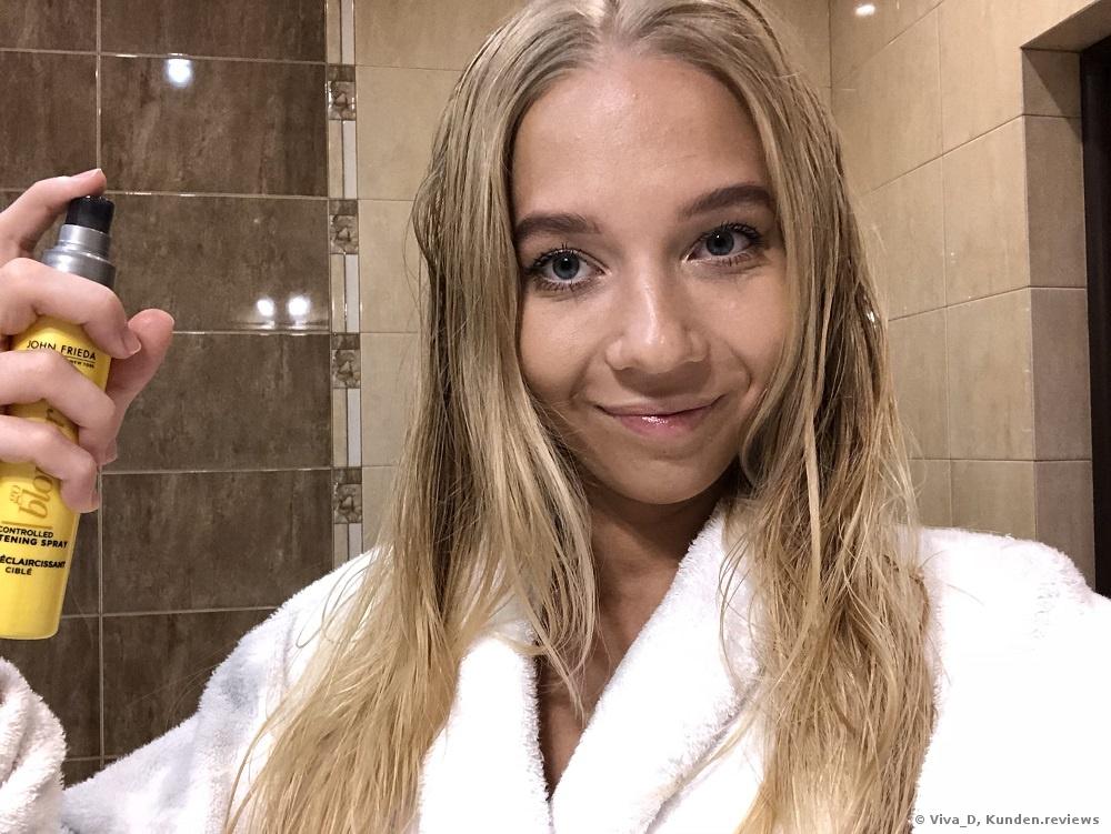 John Frieda Aufhellungsspray Sheer Blonde Go Blonder