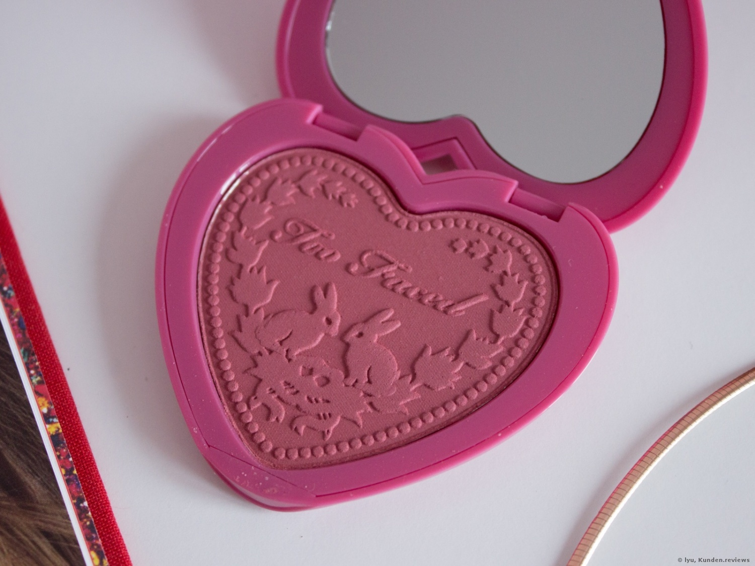 Too Faced Love Flush Rouge # Your Love is King