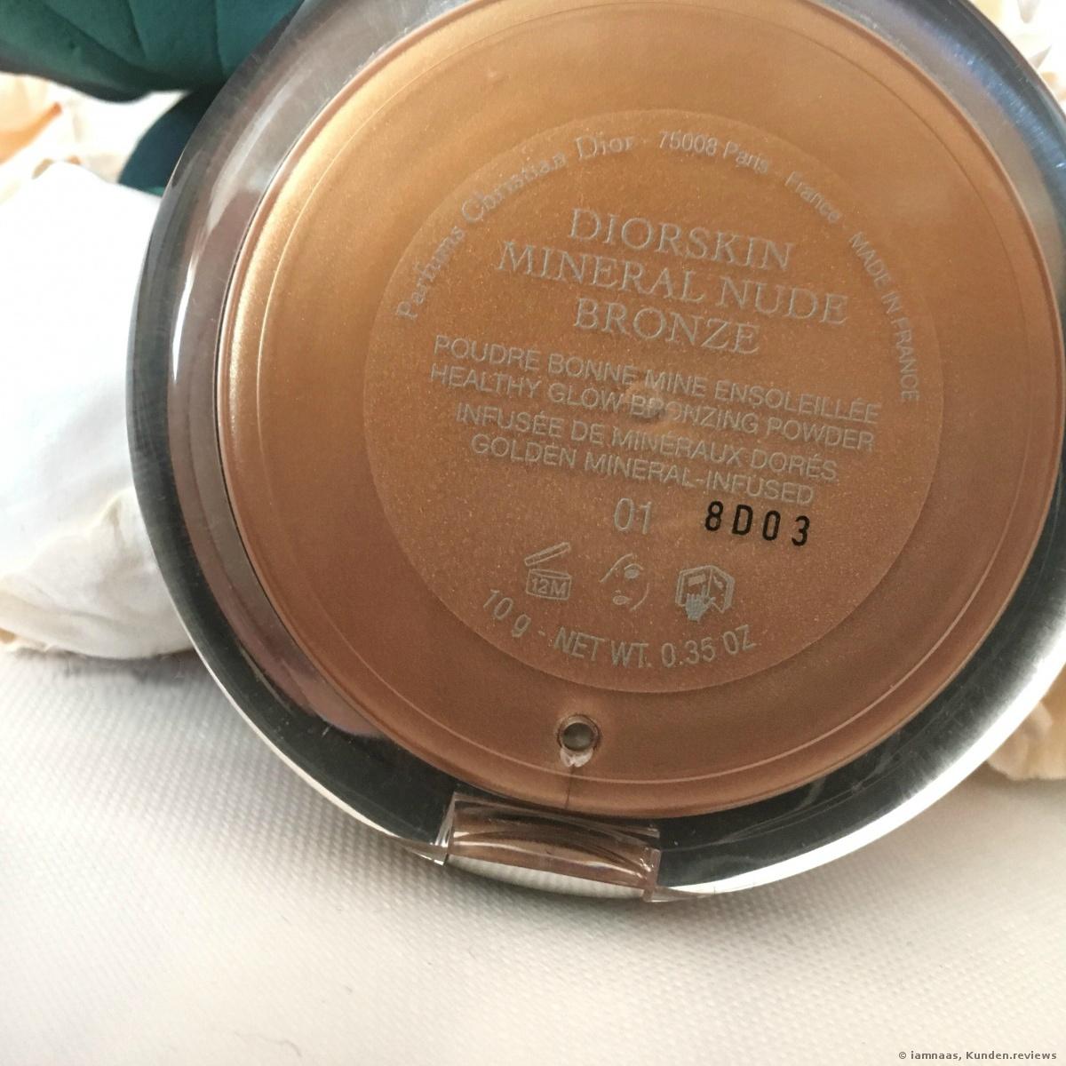 Diorskin Mineral Nude Bronze Powder