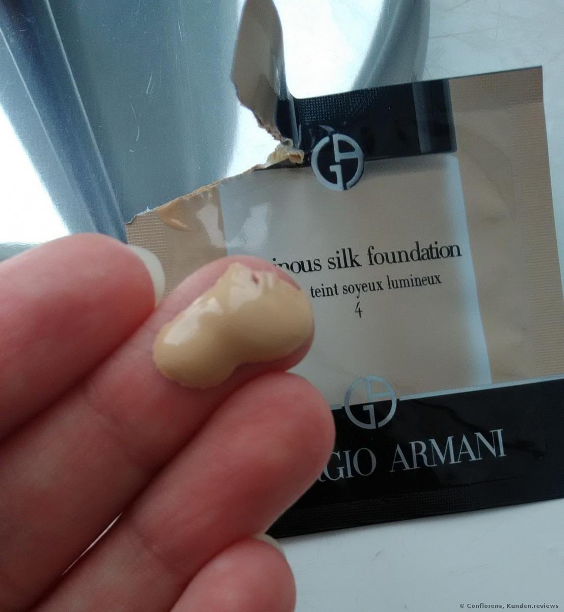 Luminous Silk Teint Foundation von Giorgio Armani