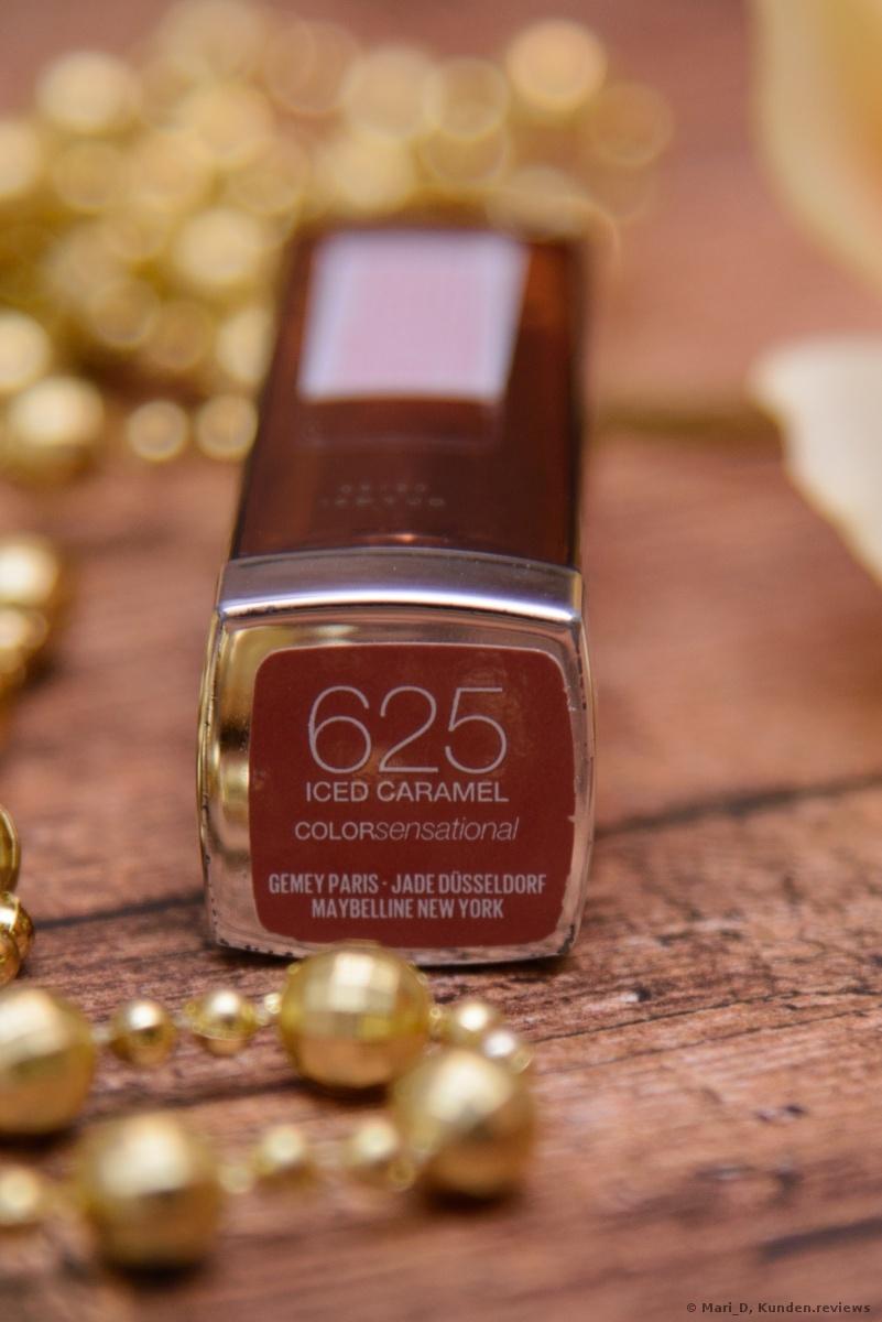 MAYBELLINE Color Sensational # 625 Iced Caramel.