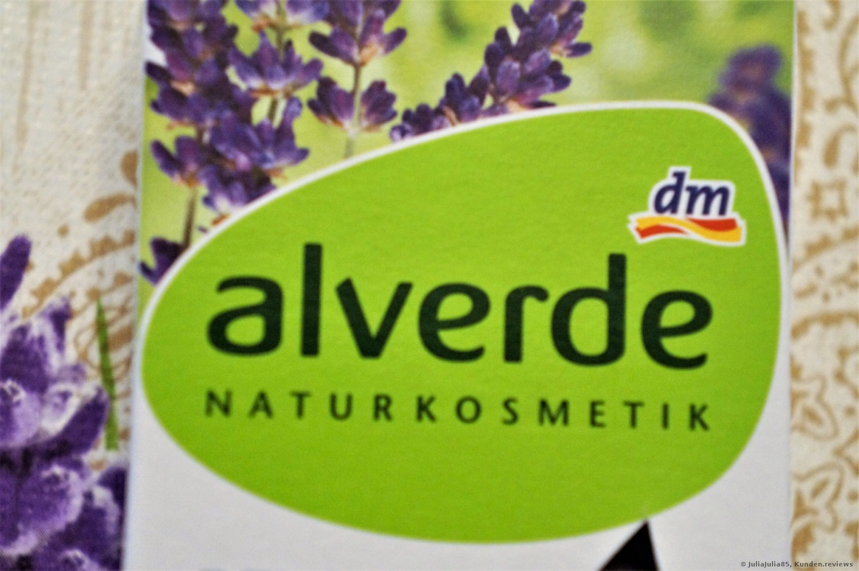 alverde NATURKOSMETIK Seife Pflanzenöl Lavendel