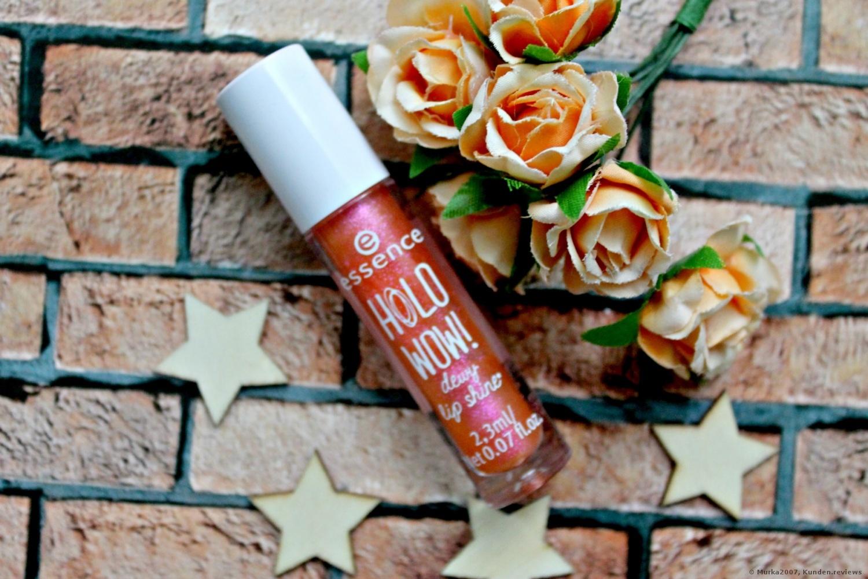 Essence Holo Wow! Dewy Lip Shine Lipgloss Foto