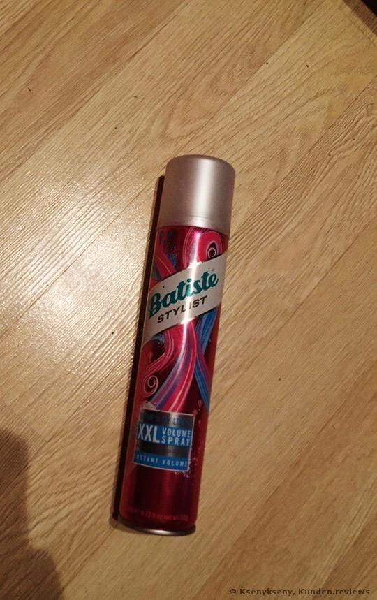 Batiste XXL Volume - for flat & lifeless hair Trockenshampoo