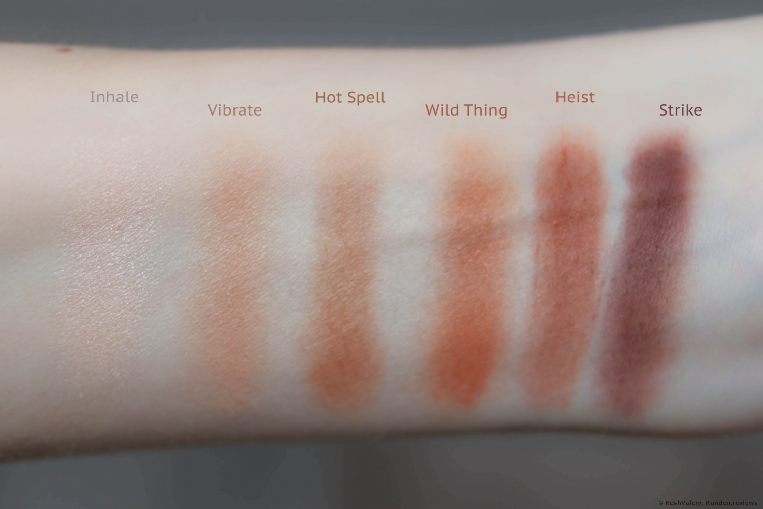 Urban Decay Naked Petite Heat. Alle Farbnuancen.