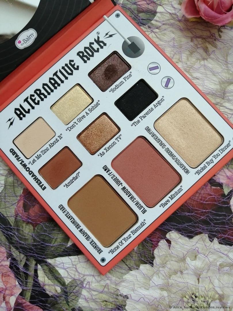 the Balm ALTERNATIVE ROCK - Make-up-Palette - vol 2