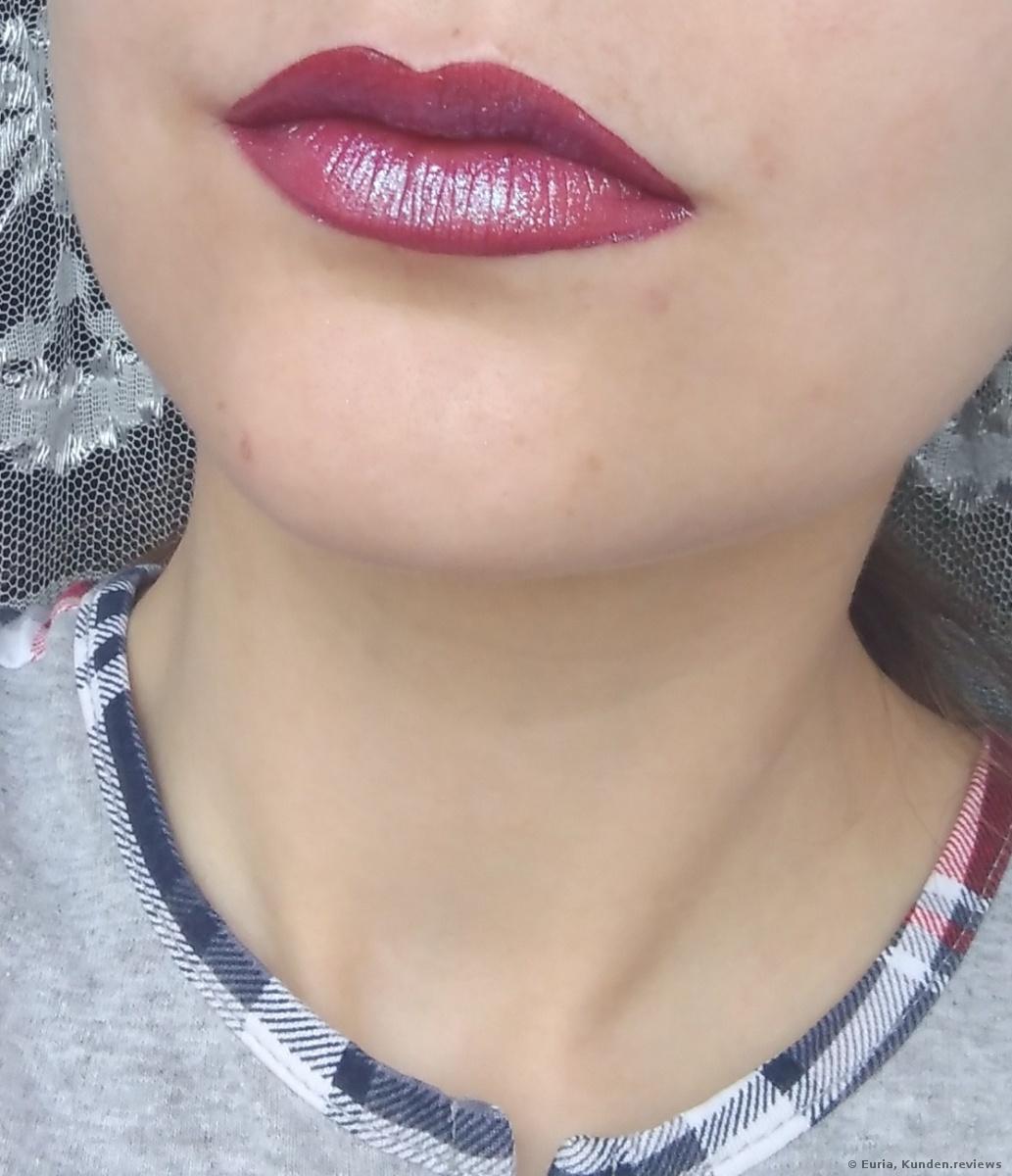NYX Shimmer DOWN Lip VeilLipgloss mit  NYX Soft Matte Lip Cream 20 Copenhagen