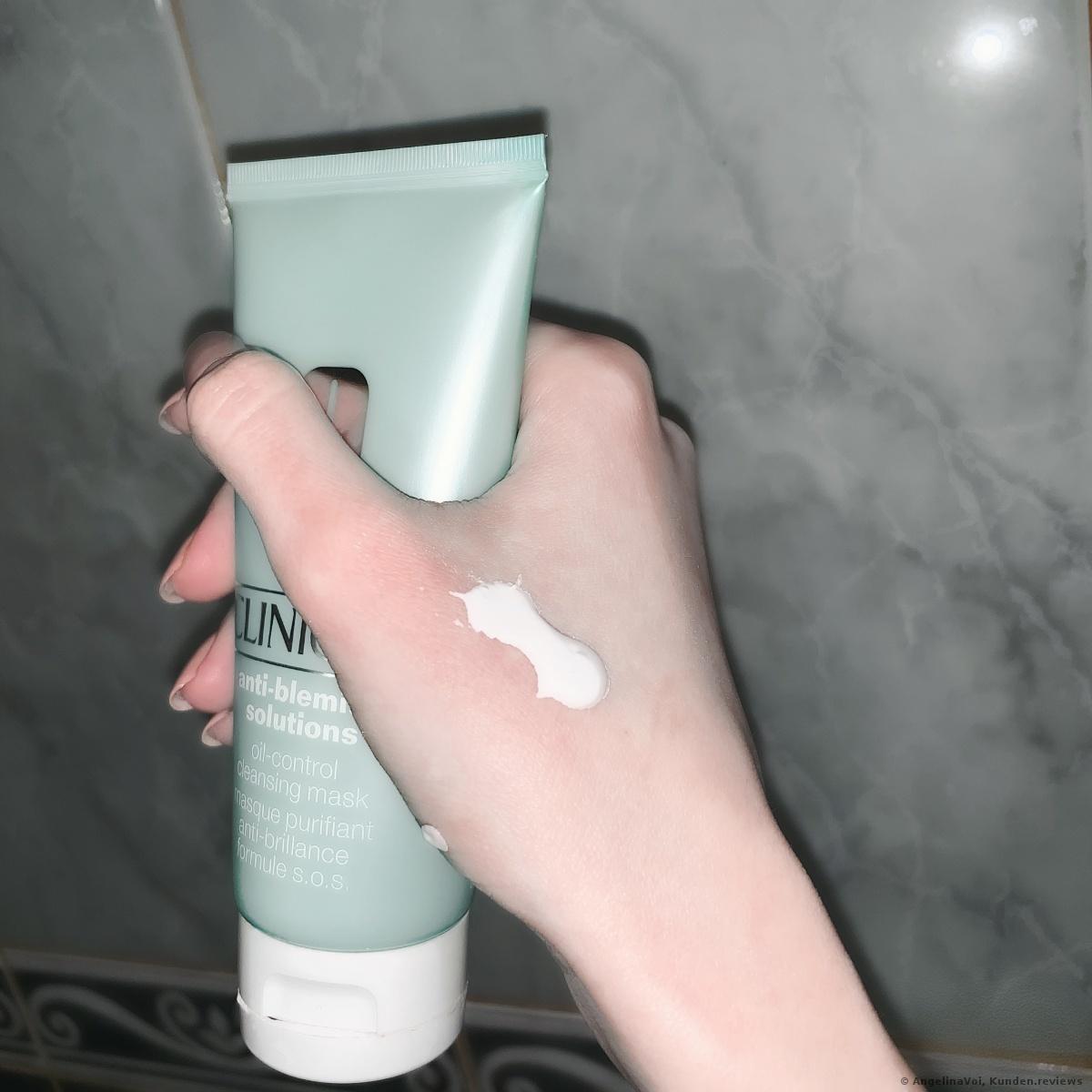 Anti-Blemish Solution Oil-Control Cleansing Maske von Clinique