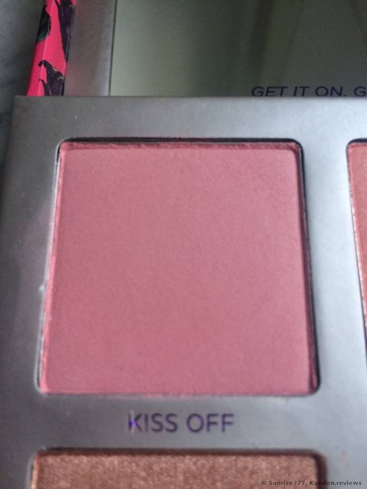 Urban Decay SIN AFTERGLOW - Highlighter + Blush Palette