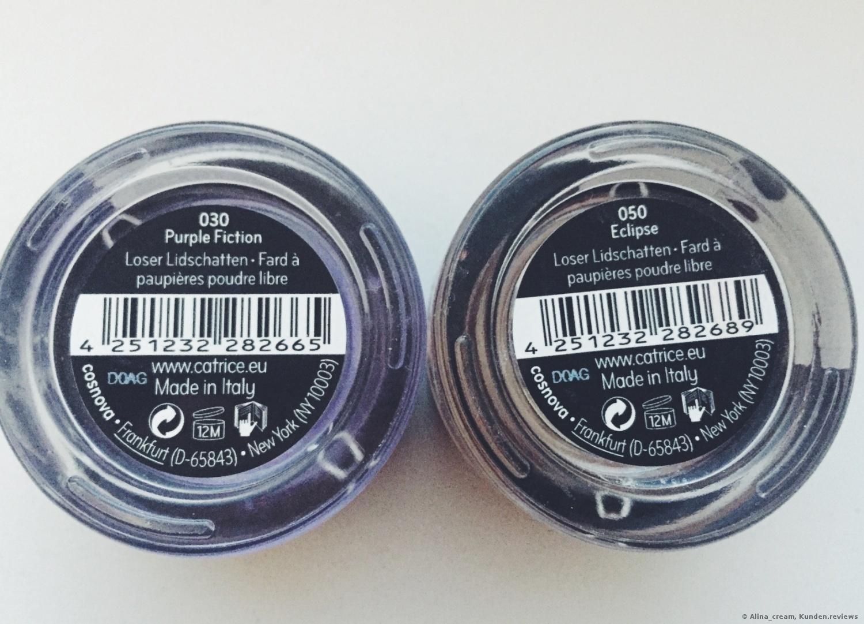 Catrice Precious Pigments # 030 und # 050