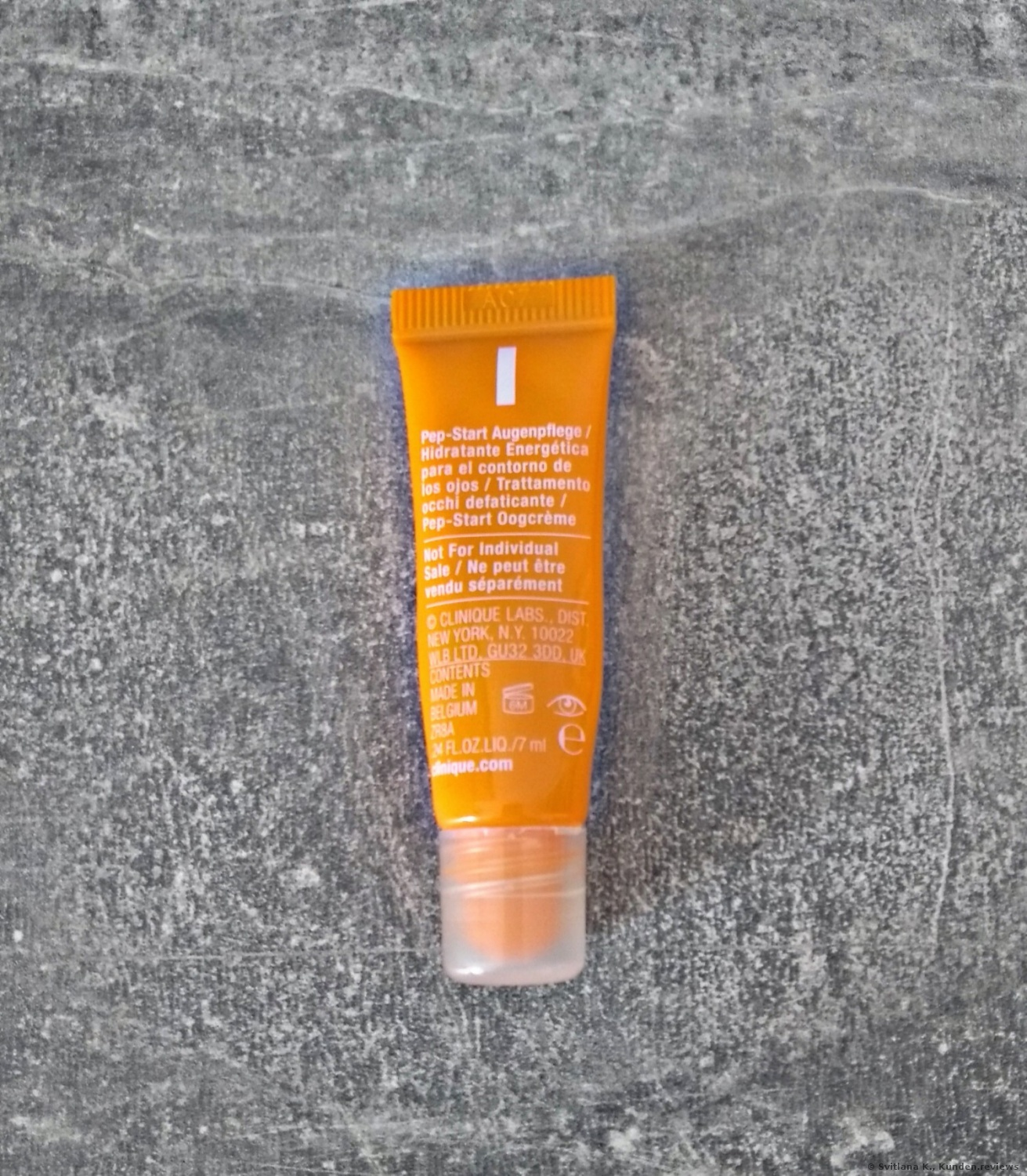 CLINIQUE Pep-Start Eye Cream Augencreme Foto