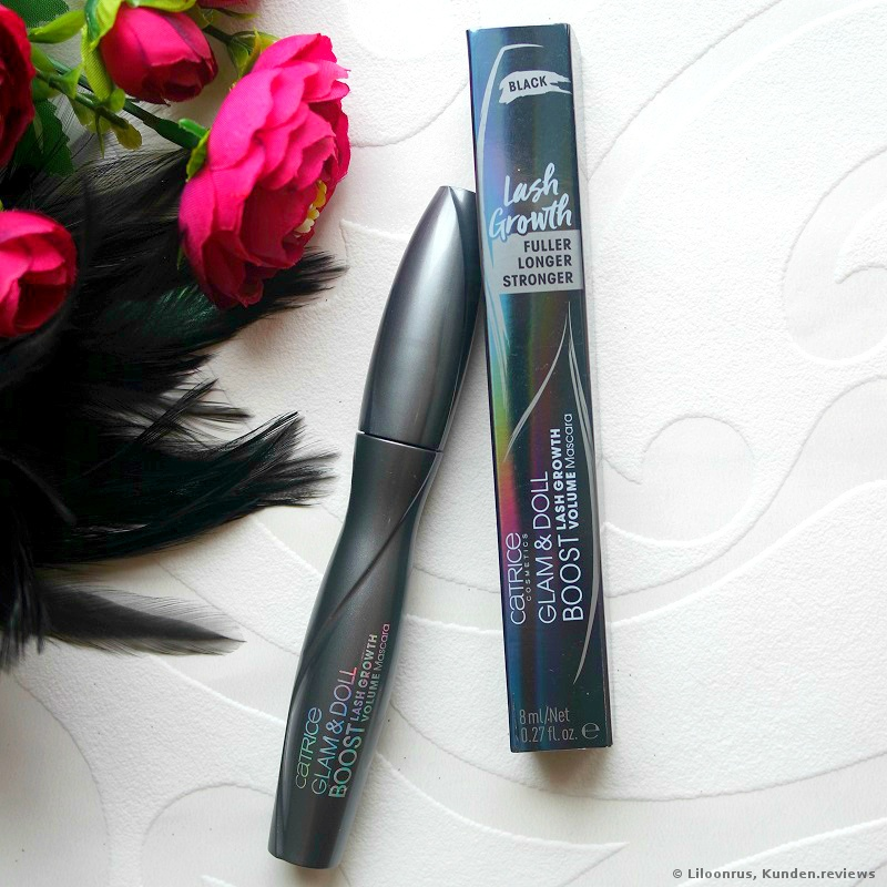 Glam & Doll Boost Lash Growth Volume Mascara von Catrice