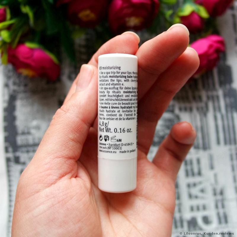 Essence My Beauty Lip Ritual Balms 03 moisturizing