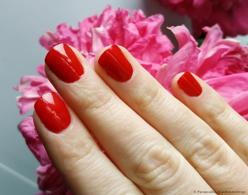 ohne Top Coat nur 226 Sally Hansen SALON manicure