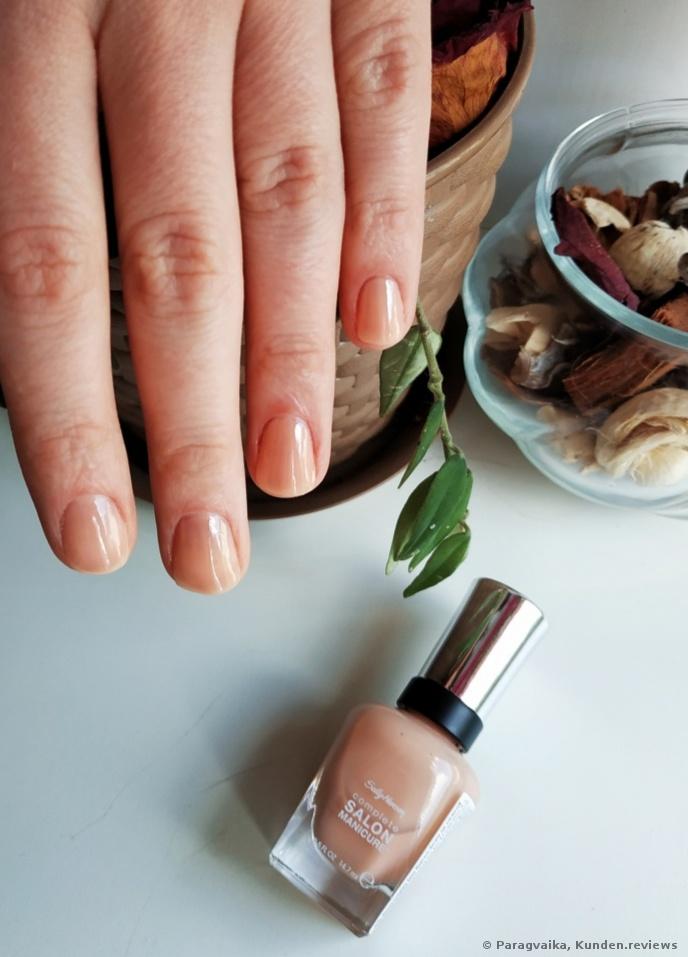 212 Sally Hansen 1 Schicht SALON manicure