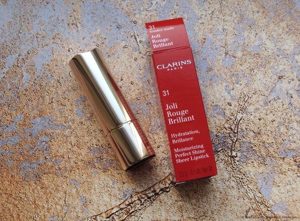 Clarins Joli Rouge Brilliant Lippenstift