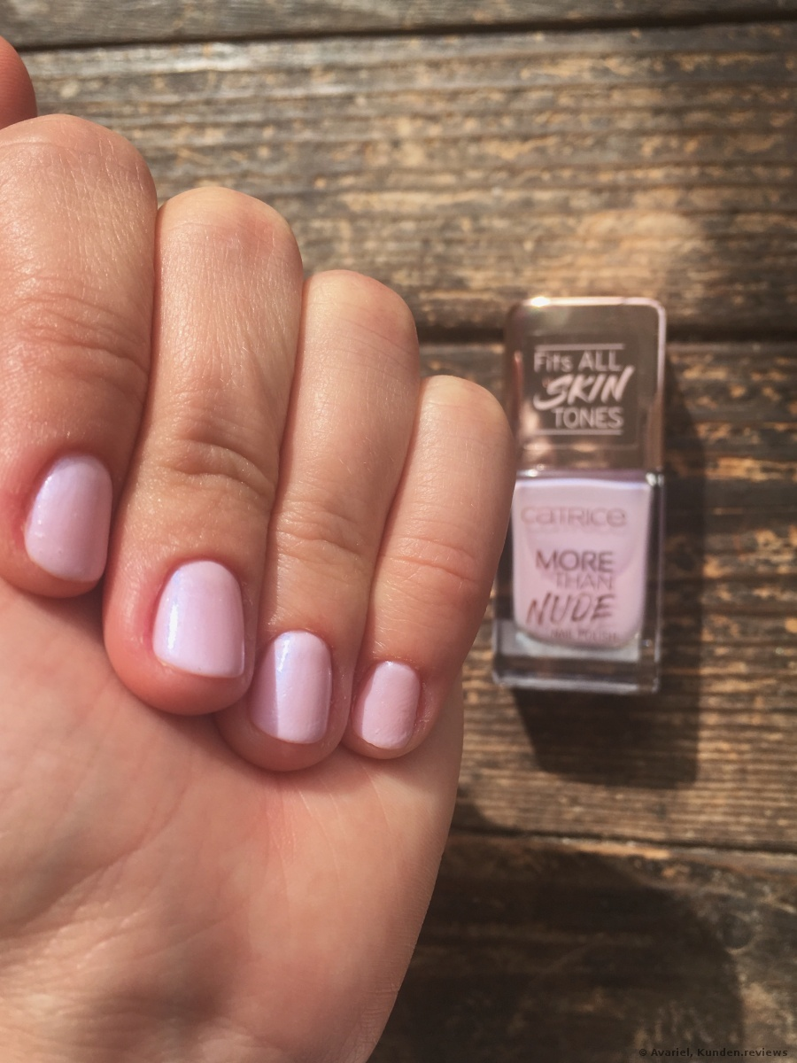 Nagellack More Than Nude   03 «Luminescent Lavender»