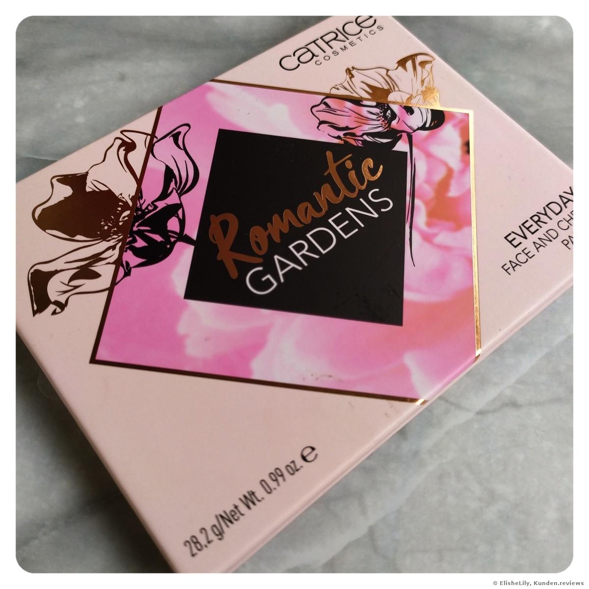 """Romantic Gardens"" Everyday Face And Cheek Palette von Catrice"