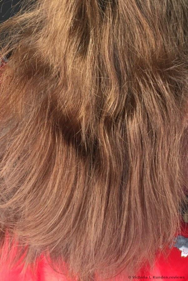Die Maske für das Haar des schnell verschmutzten Haares