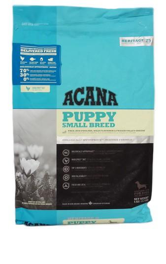 acana puppy small breed hundefutter trockenfutter f r welpen kleiner rassen unsere. Black Bedroom Furniture Sets. Home Design Ideas
