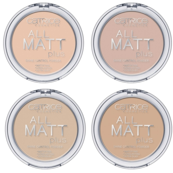 Catrice All Matt Plus - Shine Control Powder Puder - Bewertungen